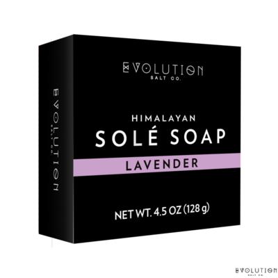 Evolution Salt Lavender Himalayan Sole Bath Soap, 4.5 Ounce