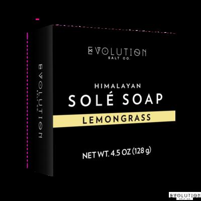 Evolution Salt Lemongrass Himalayan Sole Bath Soap, 4.5 Ounce