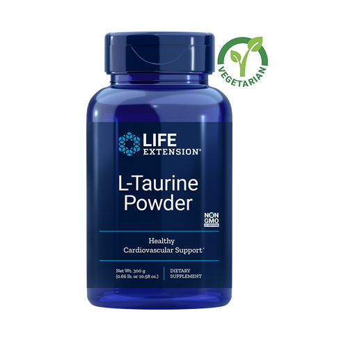 Life Extension L-Taurine Powder, 10.5 Ounce