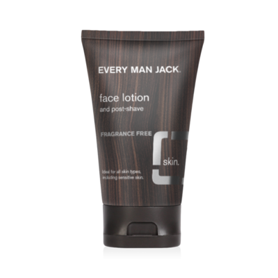 Every Man Jack Face Lotion, Fragrance Free, 4.2 fl Ounce