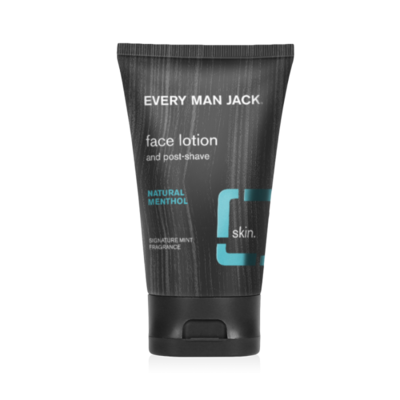 Every Man Jack Post Shave Face Lotion, Natural Menthol, 4.2 Ounce