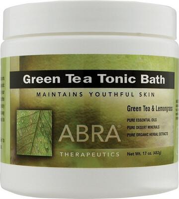 Abra Therapeutics Green Tea Tonic Bath 17 Ounce