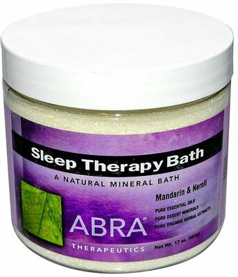 Abra Therapeutics Sleep Therapy Bath Mandarin and Neroli, 17 Ounce