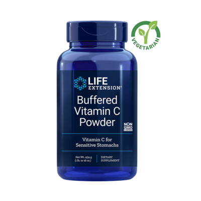 Life Extension Buffered Vitamin C Powder, 1 lb