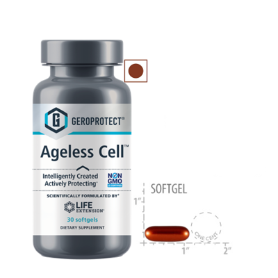 Life Extension Geroprotect Ageless Cell, 30 Softgels