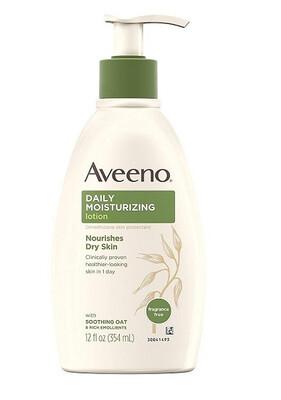 Aveeno Active Naturals Daily Moisturizing Lotion, 12 Ounce