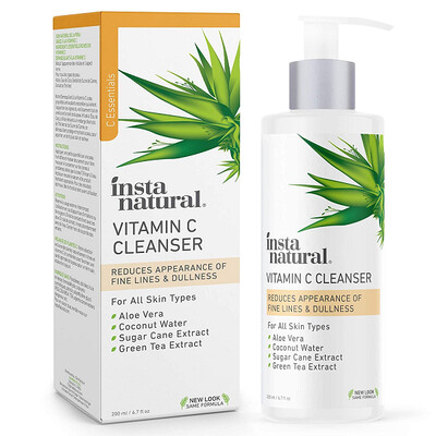 InstaNatural Vitamic C Facial Cleanser, 6.7 fl Ounce
