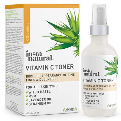 InstaNatural Vitamin C Facial Toner, 4 fl Ounce