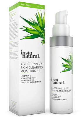 InstaNatural Age Defying and Skin Clearing Moisturizer, 1.5 fl Ounce