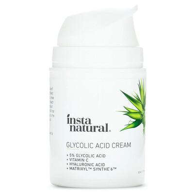 InstaNatural Glycolic Acid Moisturizer Cream, 1.7 fl Ounce