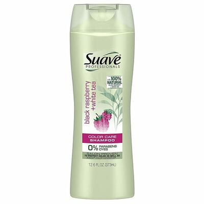 Suave Professionals Shampoo, Black Raspberry + White Tea, 12.6 fl Ounce