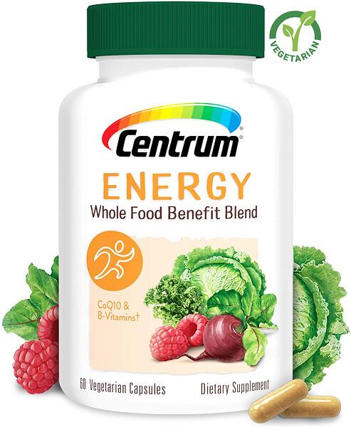 Centrum Whole Food Benefit Blend Energy, 60 Capsules