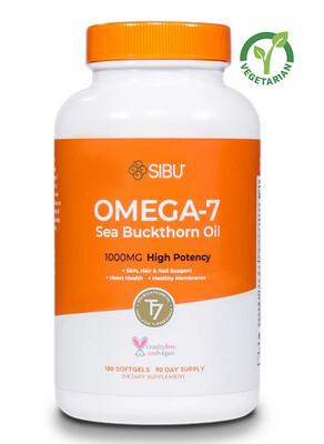 Sibu Omega 7 Sea Buckthorn Oil Soft gels, 60 Softgels