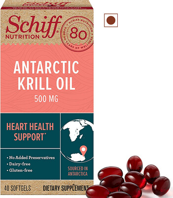 Schiff Nutrition Antarctic Krill Oil 500 mg, 40 Softgels