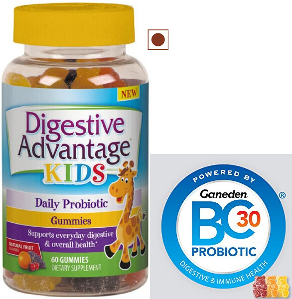 Schiff Digestive Advantage Kids Daily Probiotic Gummies, 60 each
