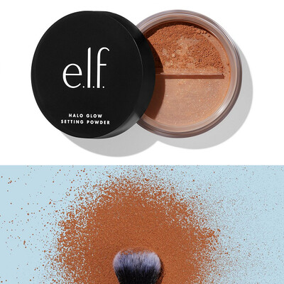 e.l.f Halo Glow Setting Powder, Deep, 0.24 Ounce