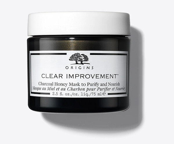 Origins Clear Improvement Charcoal Honey Mask to Purify and Nourish, 2.5 fl Ounce