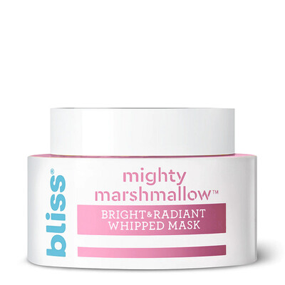 Bliss Mighty Marshmallow Brightening Face Mask, 1.7 fl Ounce