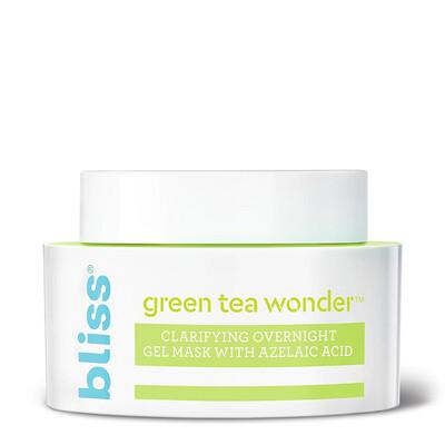 Bliss Green Tea Wonder Clarifying Overnight Gel Mask, 1.7 Ounce