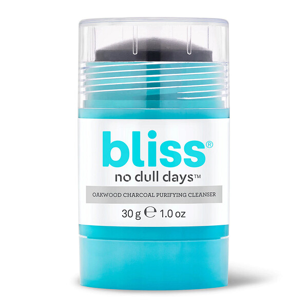 Bliss No Dull Days Cleansing Stick Oakwood Charcoal Cleanser, 1 Ounce