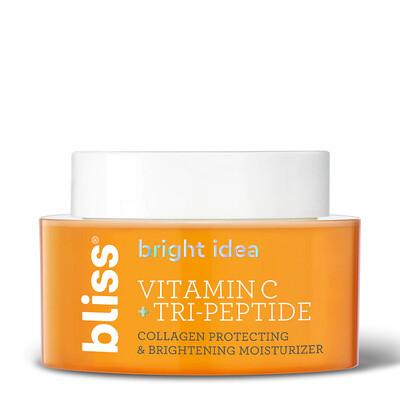 Bliss Bright Idea Vitamin C and Tri-Peptide Moisturizer, 1.7 Ounce