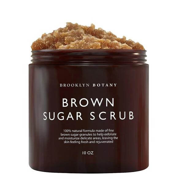 Brooklyn Botany Brown Sugar Body Scrub, 10 Ounce