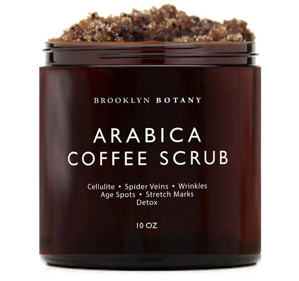 Brooklyn Botany Arabica Coffee Body Scrub and Face Scrub, 10 Ounce