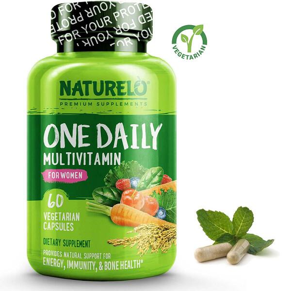 Naturelo One Daily Multivitamin for Women, 60 Capsules