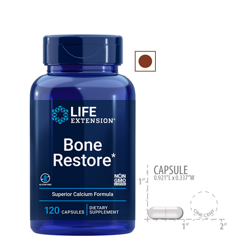 Life Extension Bone Restore, 120 Capsules