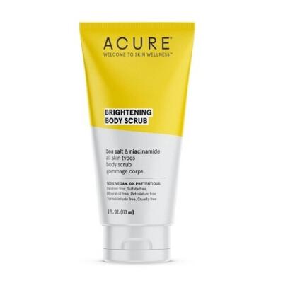 Acure Brightening Body Scrub, 6 fl Ounce