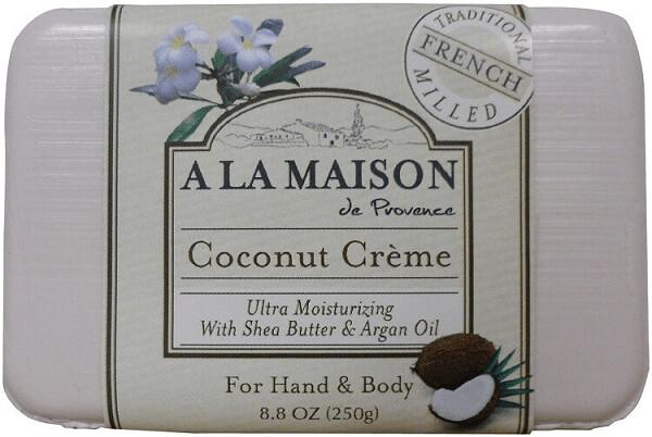 A La Maison Coconut Creme Hand and Body Soap, 8.8 Ounce