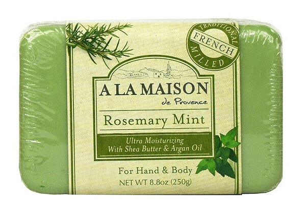A La Maison De Proven Bar Soap, Rosemary Mint, 8 Ounce