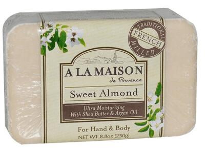 A La Maison De Proven Bar Soap, Sweet Almond, 8.8 Ounce