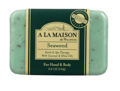 A La Maison De Proven Bar Soap, Seaweed, 8 Ounce