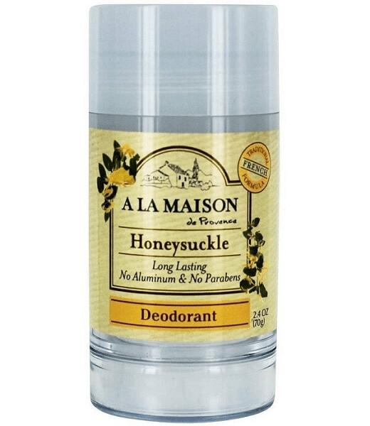 A La Maison De Provence Long Lasting Deodorant, Honeysuckle, 2.4 Ounce
