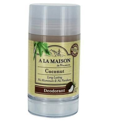 A La Maison Long Lasting Deodorant, Coconut, 2.4 Ounce