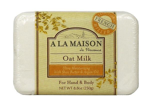 A La Maison Solid Bar Soap, Oat Milk, 8.8 Ounce
