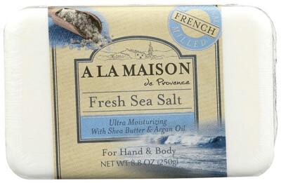 A La Maison Ultra Moisturizing Bar Soap, Fresh Sea Salt, 8 Ounce