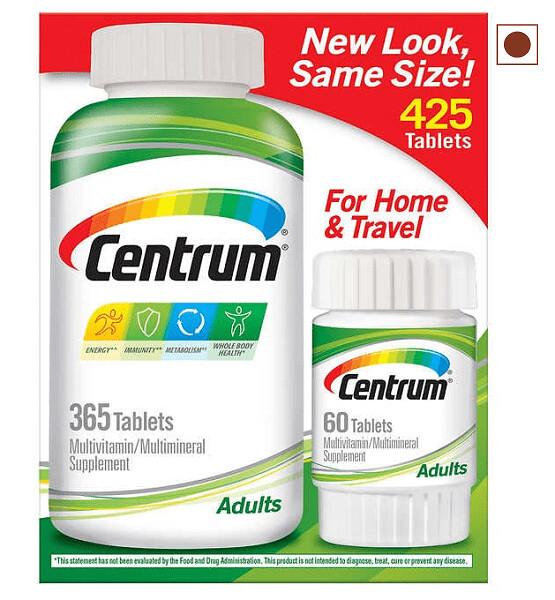 Centrum Adults Multivitamin, 425 Tablets