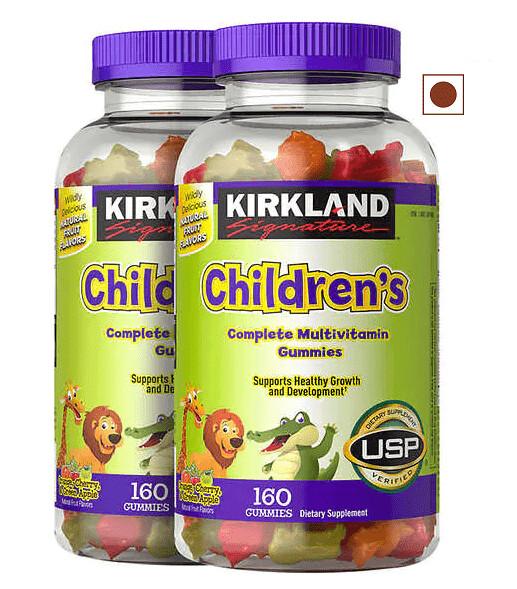 Kirkland Signature Children's Complete Multivitamin, 320 Gummies