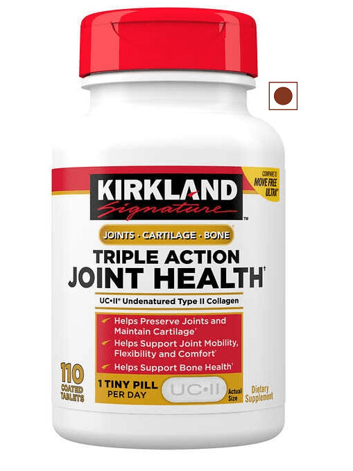 Kirkland Signature Triple Action Joint Health, 110 Tablets