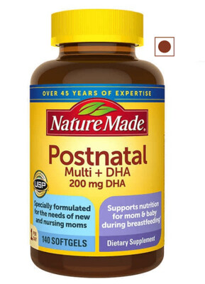 Nature Made Postnatal Multi+DHA, 140 Softgels