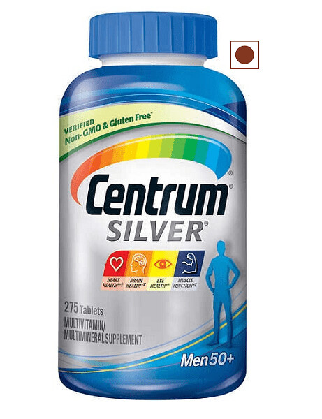Centrum Silver Multivitamin Men 50+, 275 Tablets