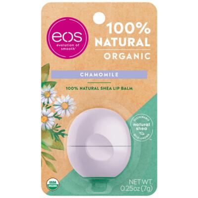 eos Organic Lip Balm, Chamomile, 0.25 Ounce
