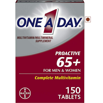 One A Day Proactive 65+ Multivitamin, 150 Tablets