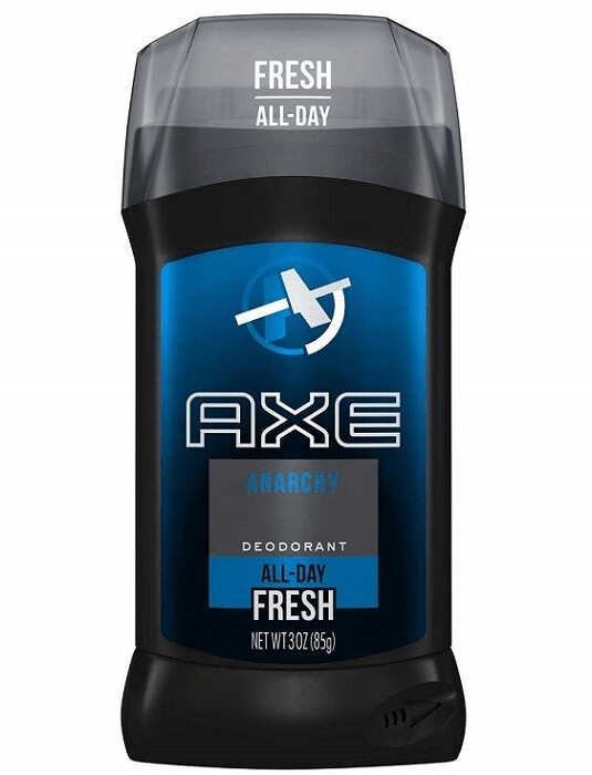 Axe Fresh Deodorant Stick, Anarchy, 3 Ounce