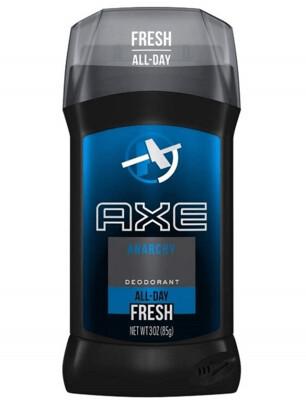 Axe Fresh Deodorant Stick, Anarchy, 3 Ounce