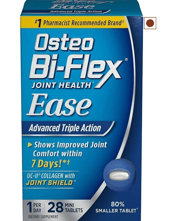 Osteo Bi-Flex Ease Advanced Triple Action with Vitamin D, 28 Tablets