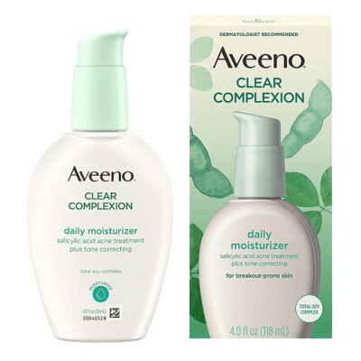 Aveeno Clear Complexion Daily Moisturizer, 4 fl Ounce