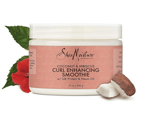 Shea Moisture Coconut and Hibiscus Curl Enhancing Smoothie, 12 Ounce